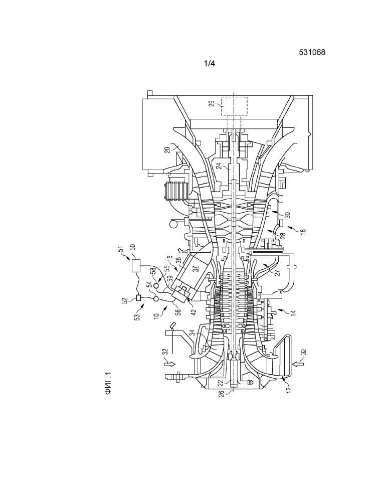 Система управления газотурбинным двигателем