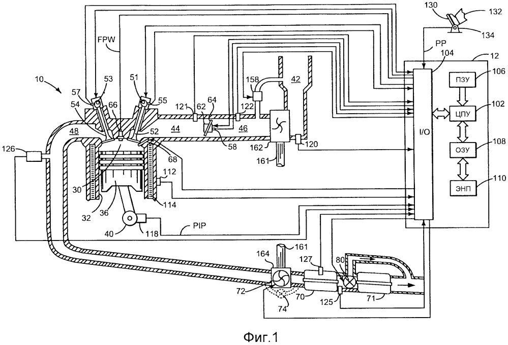 Способ работы системы выпуска двигателя и система выпуска двигателя транспортного средства