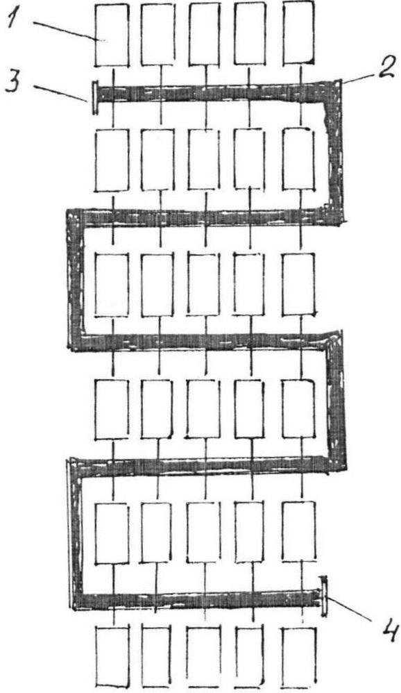 Антибуксовочное устройство в.г. вохмянина для транспортных средств и самоходных машин колёсного типа