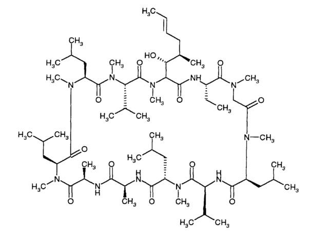 Взвеси циклоспорина а формы 2