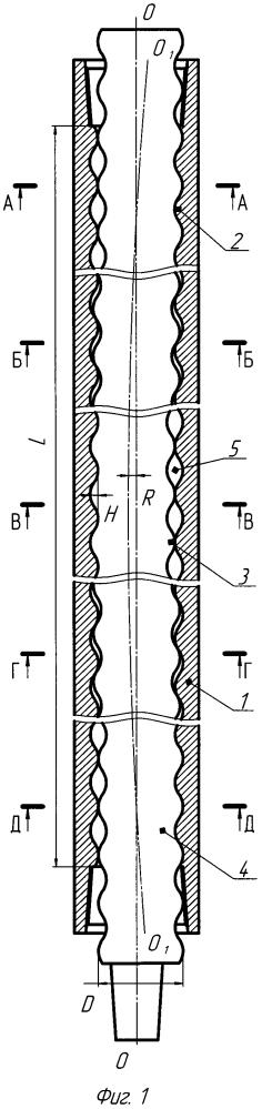 Винтовая гидромашина с уравновешенным ротором