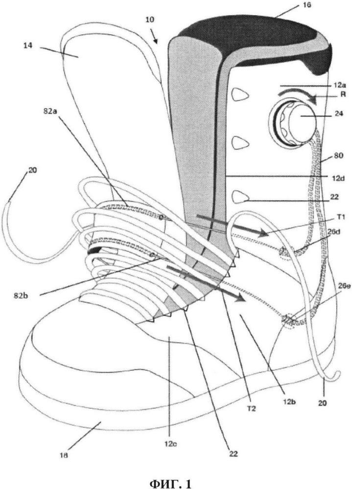 Системы натяжения обуви