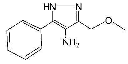 4-амино-3-метоксиметил-5-фенил-1н-пиразол