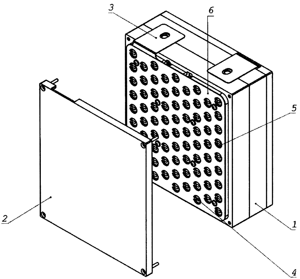 Блок литий-ионных аккумуляторов для аккумуляторных батарей