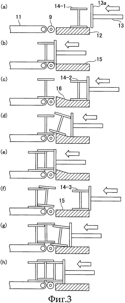 Устройство для штабелирования фасонной стали