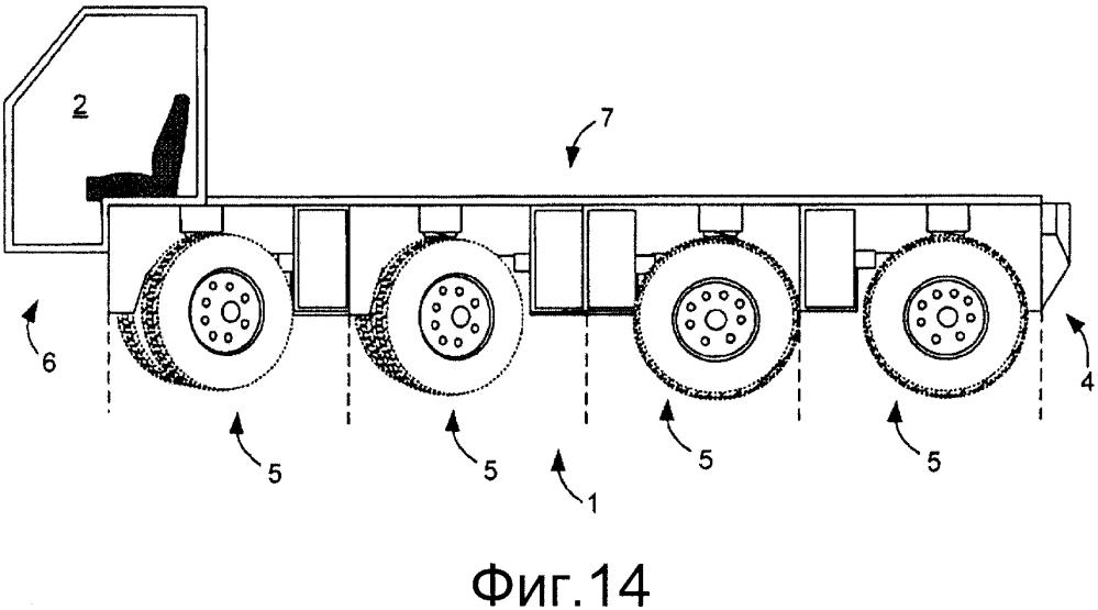 Система модульного электрического транспортного средства