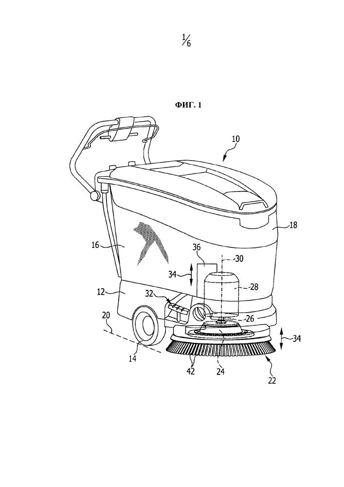 Чистящий инструмент для полоуборочной машины и полоуборочная машина