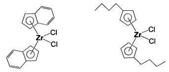Способы контролирования полимеризации олефинов с применением двухкомпонентного катализатора