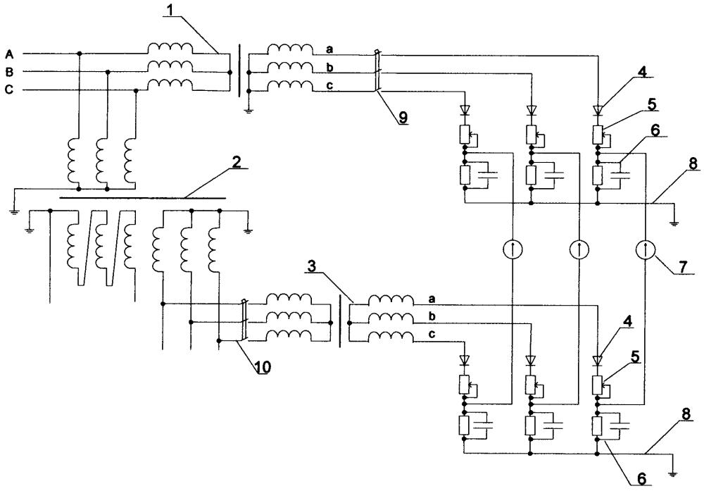 Устройство для диагностики межвитковых замыканий в обмотках силового трансформатора