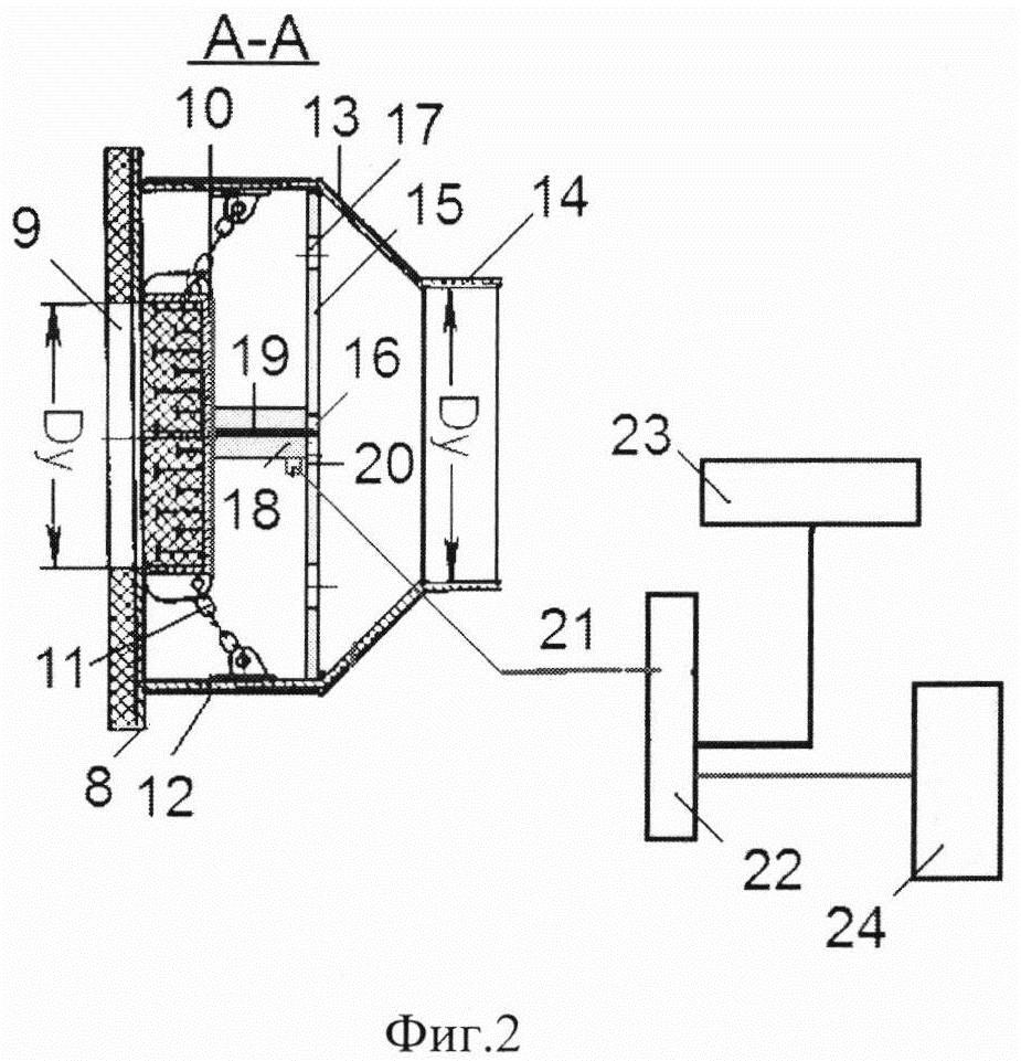 Взрывозащитная конструкция для ограждения взрывоопасных помещений производственных объектов