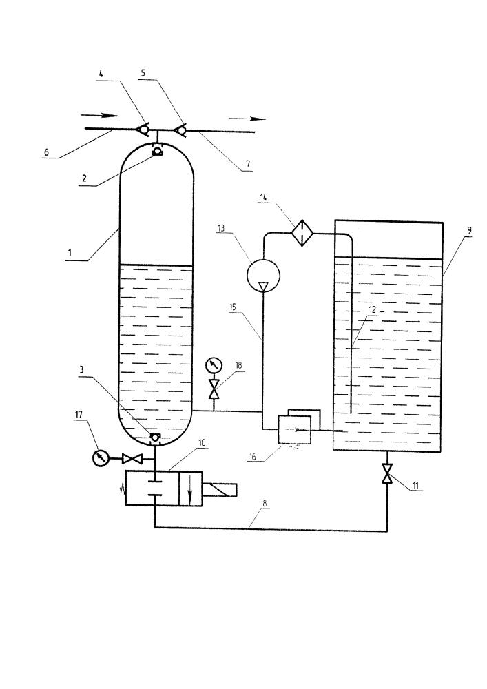 Способ периодического компримирования газа