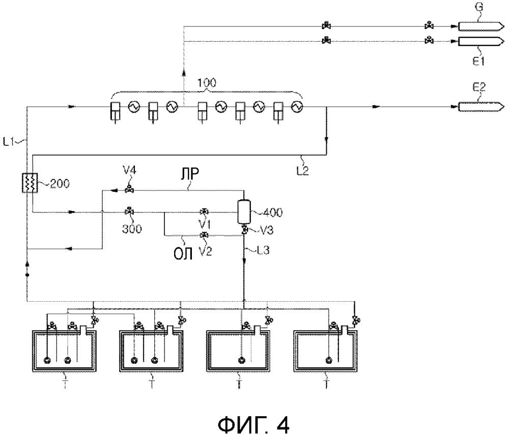 Система обработки отпарного газа