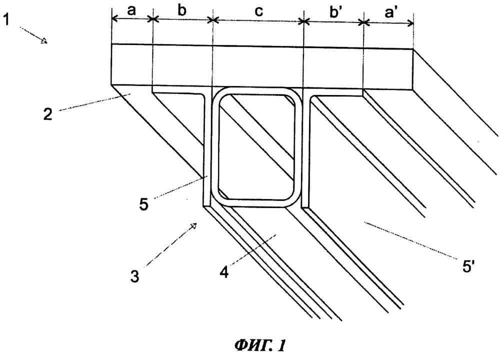 Кассетная форма для отливки бетонных изделий и соответствующий способ