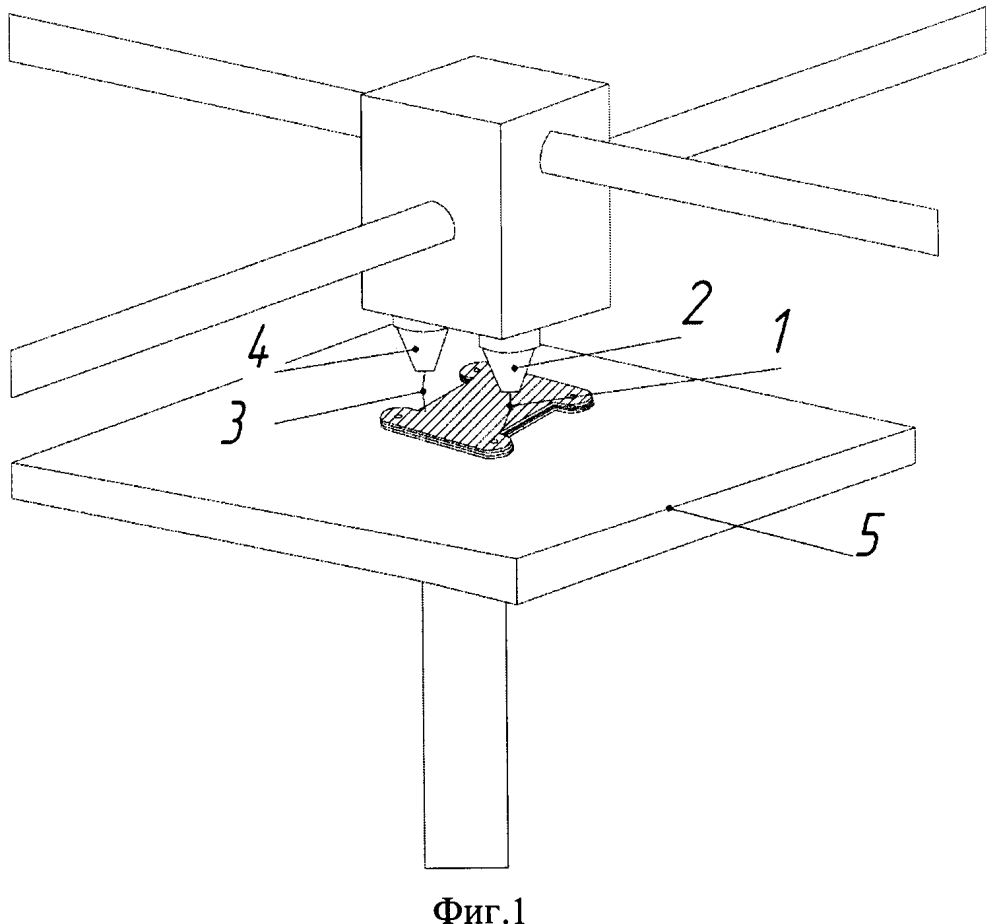Способ изготовления волноводных свч-устройств и элементов на 3d-принтере методом послойного наплавления нитевого композиционного абс-пластика