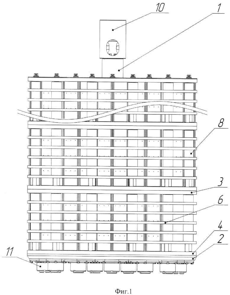 Чехол контейнера для транспортирования и хранения отработавшего ядерного топлива