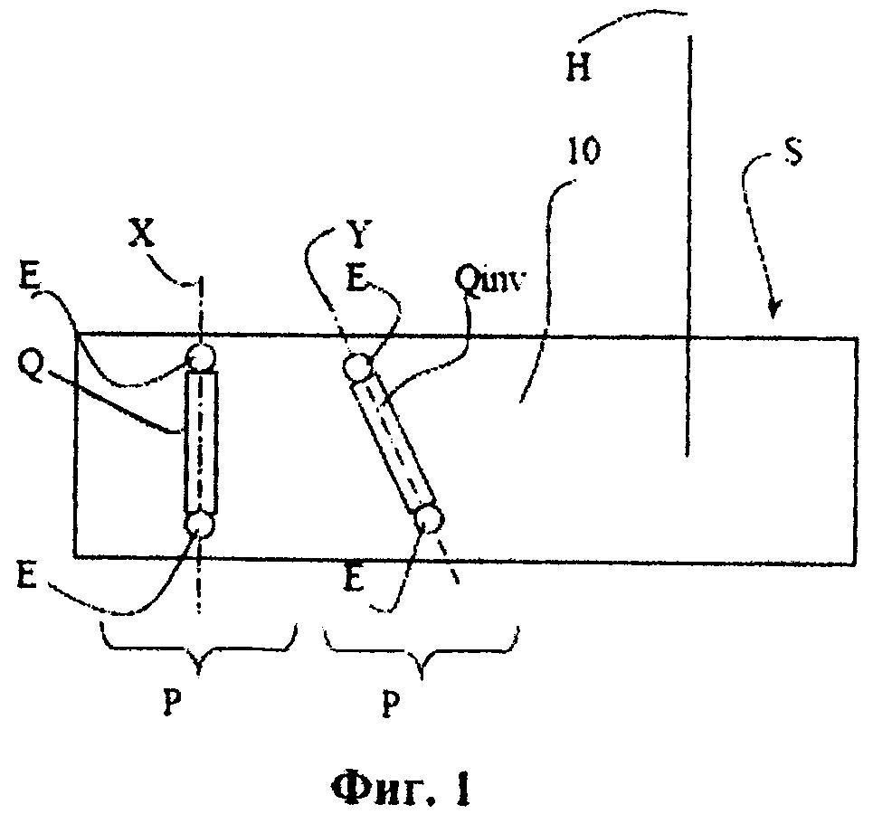 Способ внедрения или диспергирования частиц с пьезоэлектрическими свойствами в слое