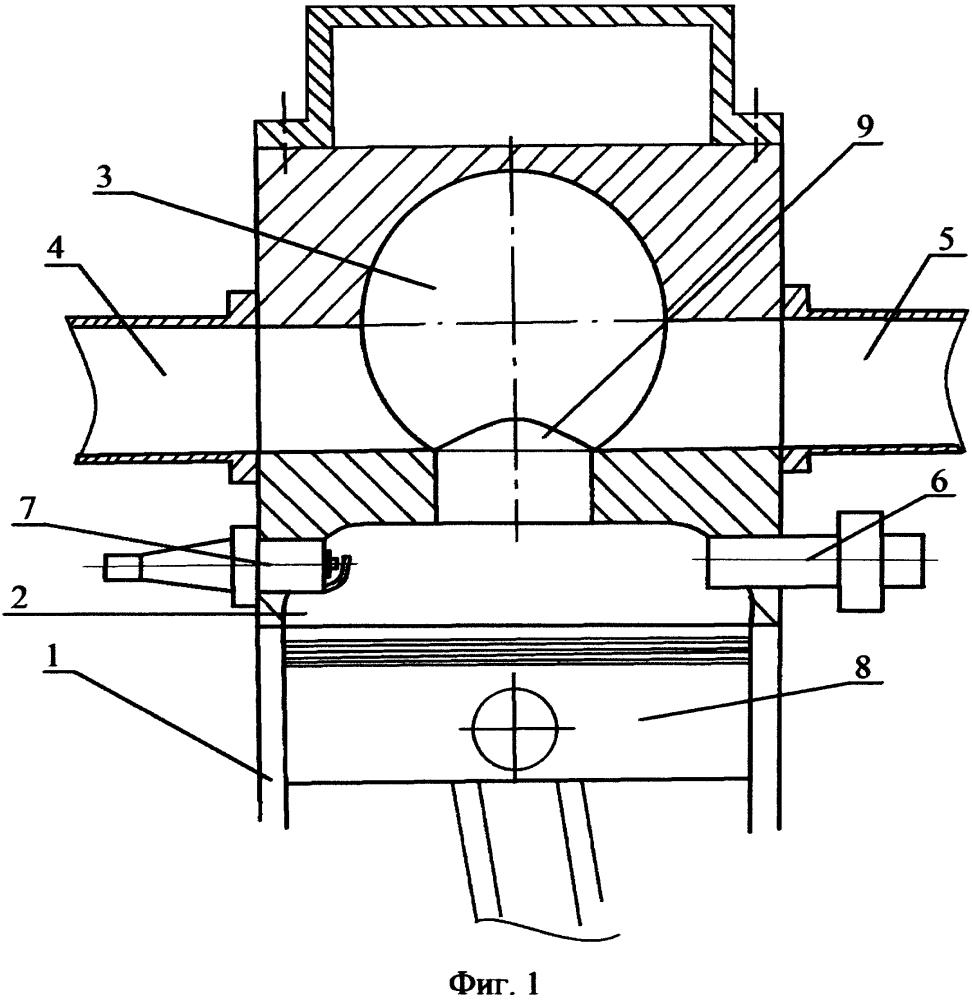 Шеститактный двигатель внутреннего сгорания
