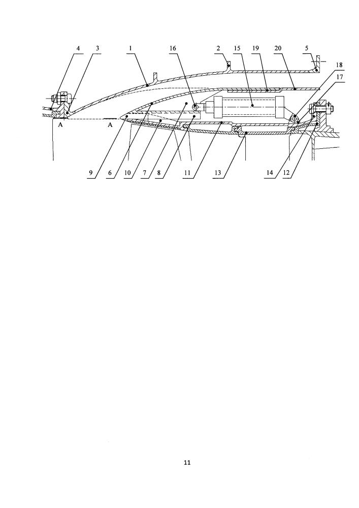 Клапанный узел канала перепуска компрессора
