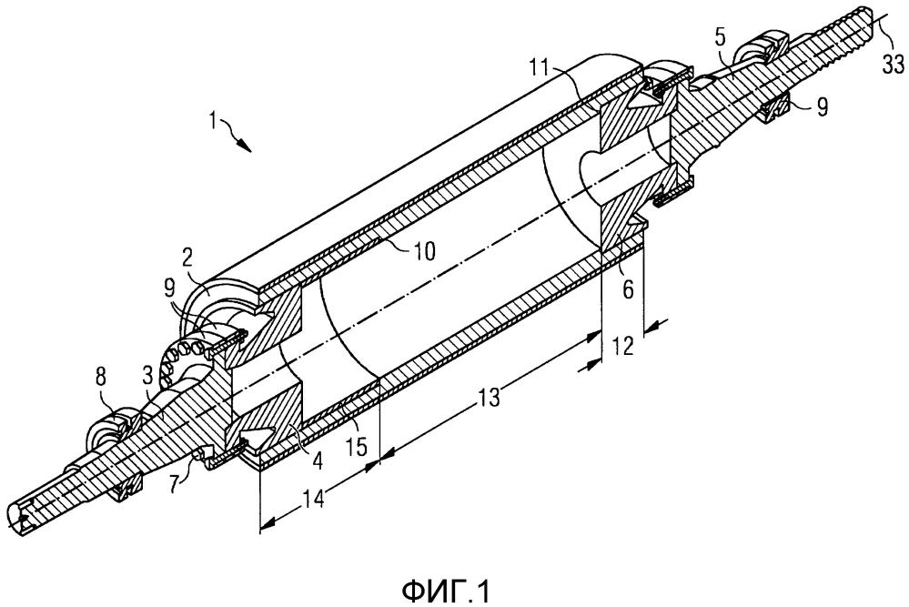 Тянущий ролик наматывающего устройства прокатного стана и способ его изготовления