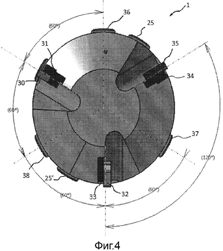 Калибровочная головка для сверления валов