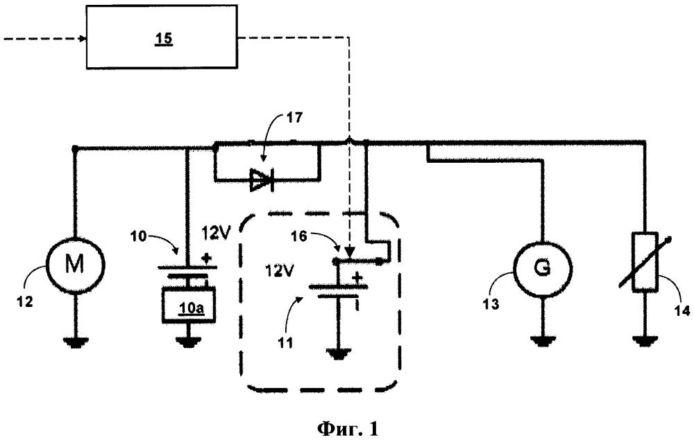 Способ эксплуатации системы электропитания транспортного средства