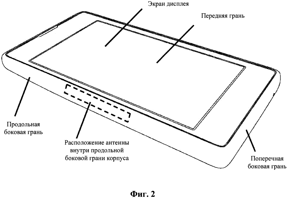 Мобильный телефон с низкой мощностью дозы излучения