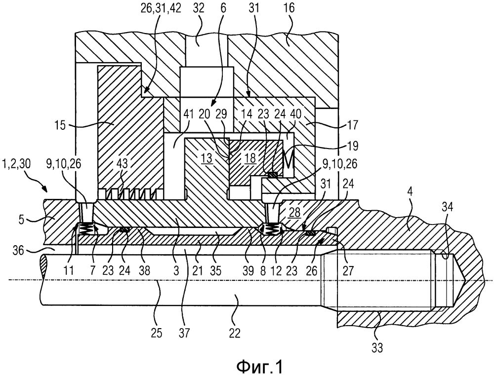 Уплотнение ротора компрессора
