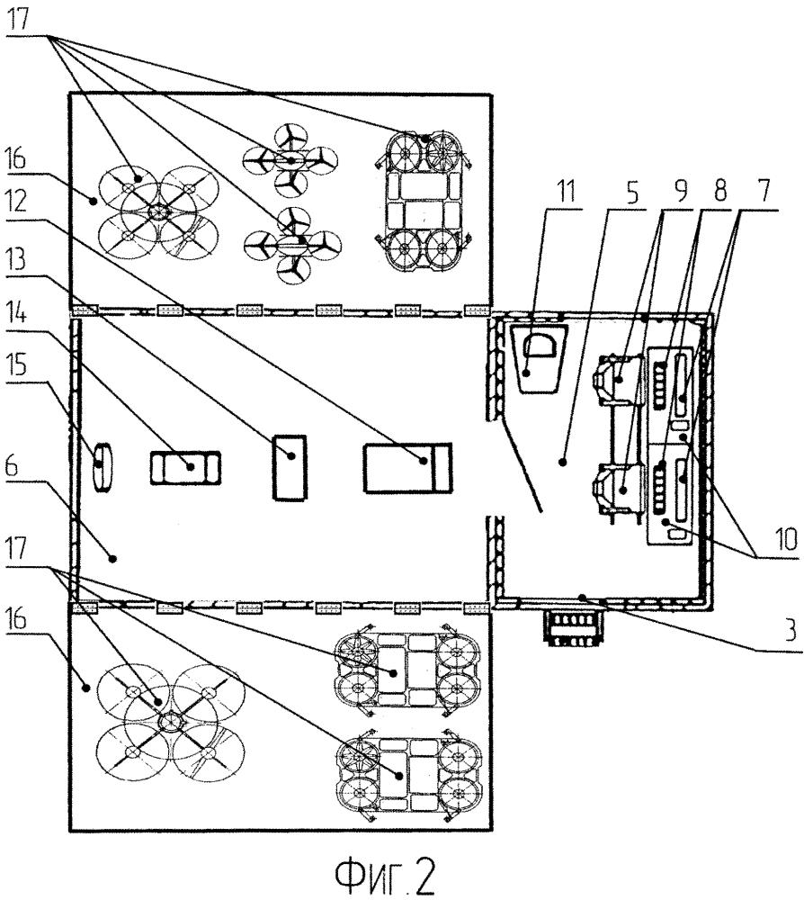 Универсальная мобильная авиационная система беспилотных летательных аппаратов