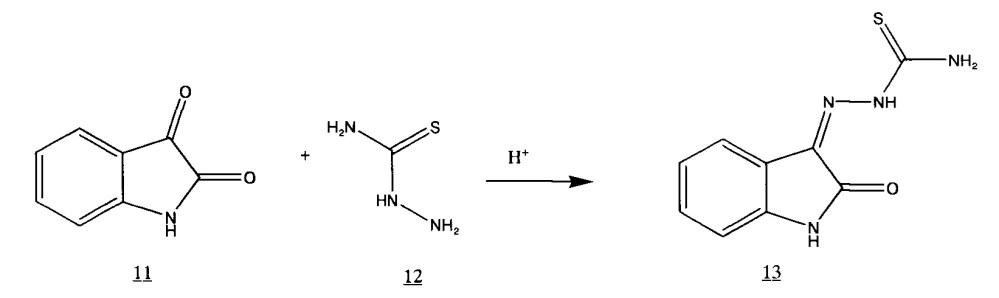 Способ получения дигидрохлорида 3-(2-морфолино-этилтио)-1,2,4-триазино[5,6-b]индола