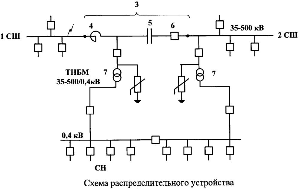 Распределительное устройство в сети переменного тока