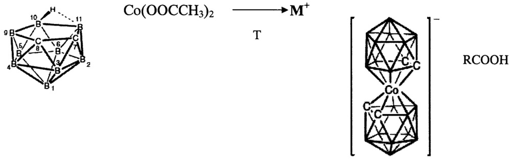 Способ получения солей бис(дикарболлид) кобальта
