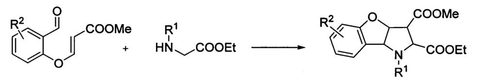 Способ получения этил 3-(3-гидрокси-1,4-диоксо-1,4-дигидронафталин-2-ил)-2,5,10-триоксо-10b-фенил-1,2,3,5,10,10b-гексагидро-3ан-нафто[2,3:4,5]фуро[3,2-b]пиррол-3а-карбоксилатов