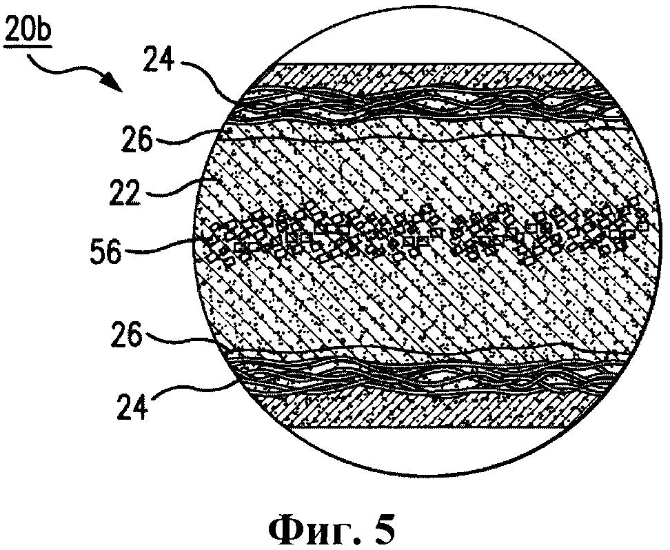 Строительная плита с акустическим пеноматериалом
