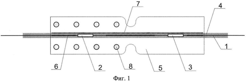 Волоконно-оптический тензометрический датчик