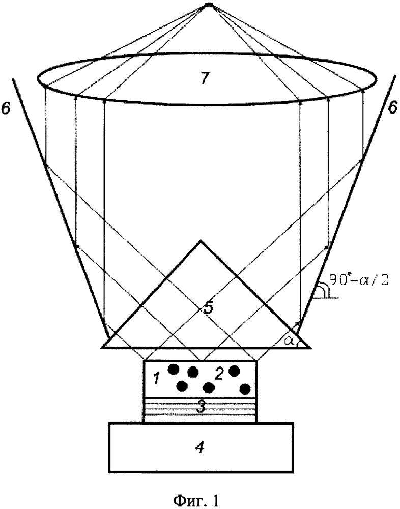 Способ вывода из осаждённого из газовой фазы алмаза электромагнитного излучения центров окраски