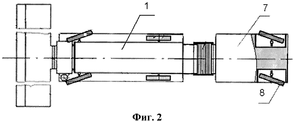 Сельскохозяйственный зерноуборочный агрегат модульного построения