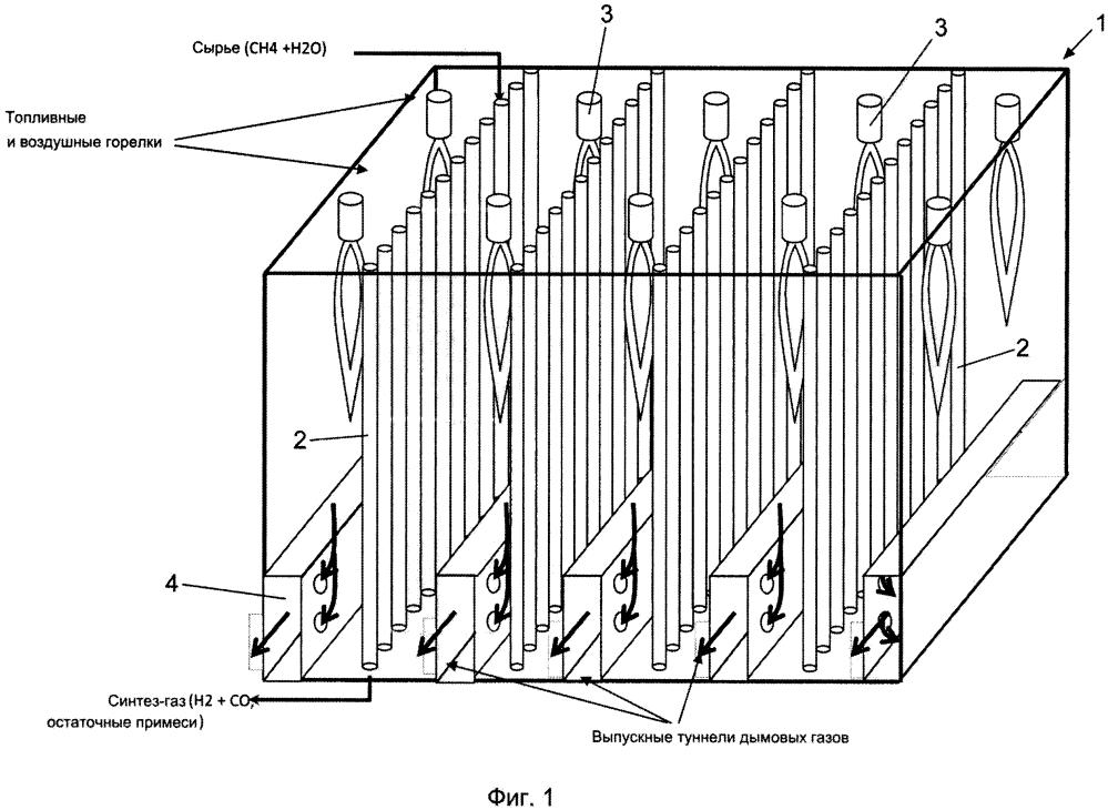 Способ и устройство для проведения эндотермических реакций
