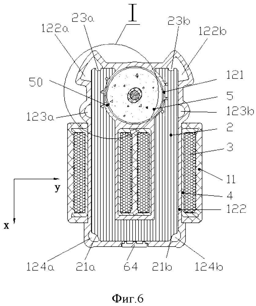 Синхронный электродвигатель с постоянными магнитами и способ его изготовления