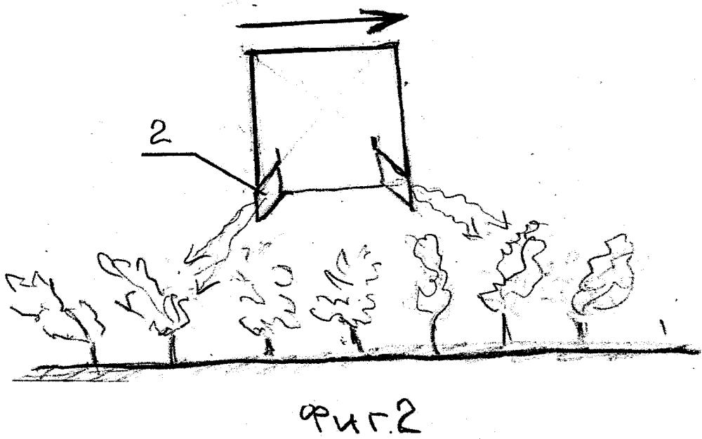 Устройство для доставки воздуха теплоносителя к биообъектам, продуктам и растениям