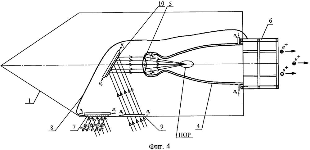Лазерный ракетный двигатель с электростатическим ускорением рабочего тела