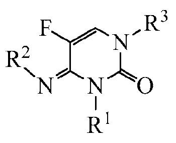 Производные 3-алкил-5-фтор-4-замещенного-имино-3,4-дигидропиримидин-2(н)-она в качестве фунгицидов