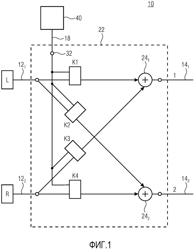 Аудиопроцессор для зависимой от ориентации обработки