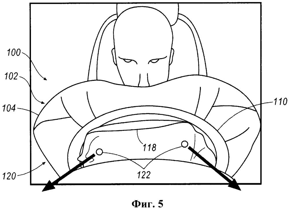 Модуль подушки безопасности водителя и система пассивной безопасности транспортного средства
