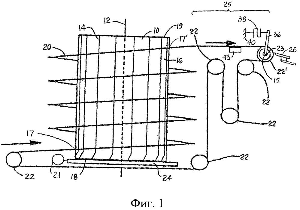 Спиральный конвейер с управляемым натяжным устройством