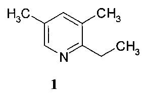 Способ получения 2-этил-3,5-диметилпиридина