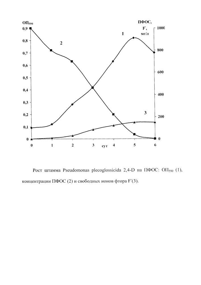 Штамм бактерий pseudomonas plecoglossicida, осуществляющий биодеградацию перфтороктансульфоновой кислоты