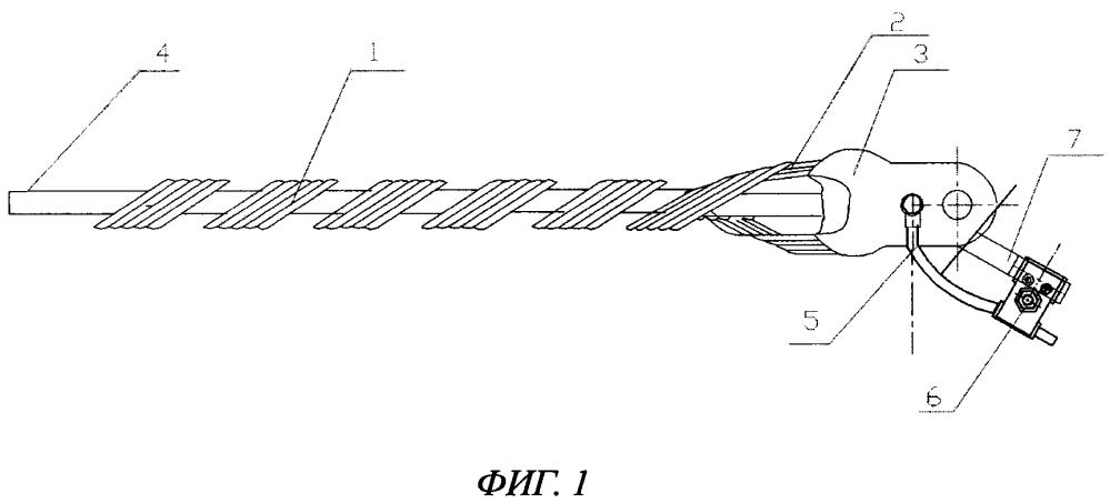Устройство для крепления защищенных изоляцией проводов на опорах воздушных линий электропередачи (варианты)