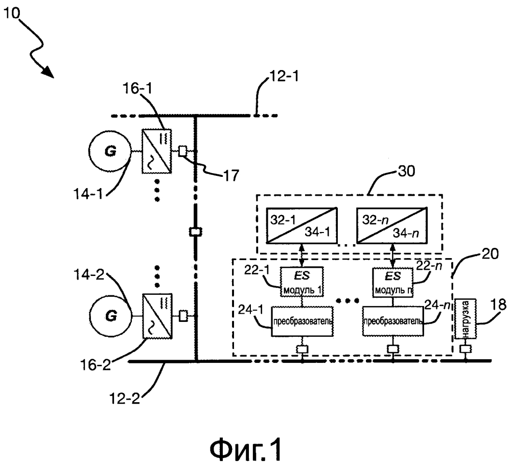 Способ и устройство для управления гибридной системой аккумулирования энергии