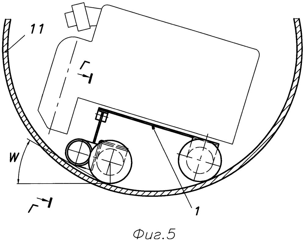 Универсальная платформа на магнитных колёсах для внутритрубных устройств
