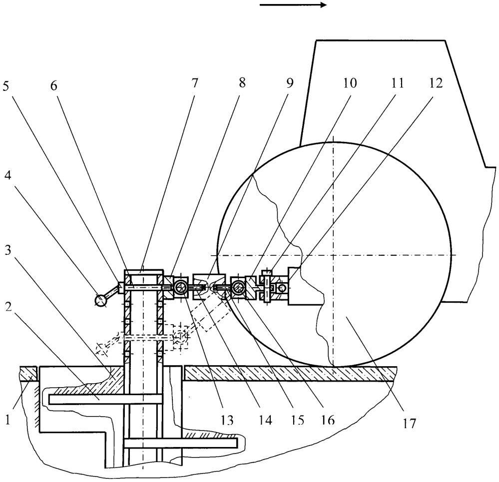 Устройство тормозное для тяговых испытаний машин
